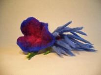 Blumen-Haargummi