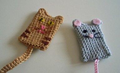 Katzen- und Mauslesezeichen