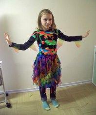 Paradiesvogel-Kostüm