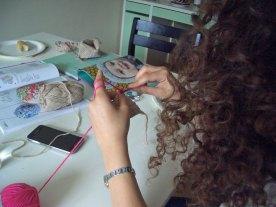 Das Projekt Schal wird über den Sommer fortgeführt