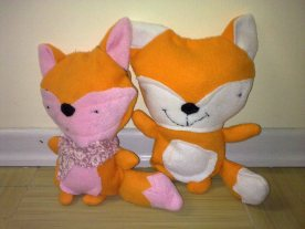 Fuchsmädchen und Fuchsbub