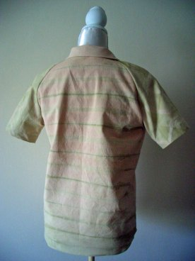 Shibori-Bluse