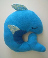 kuscheliger Delphin